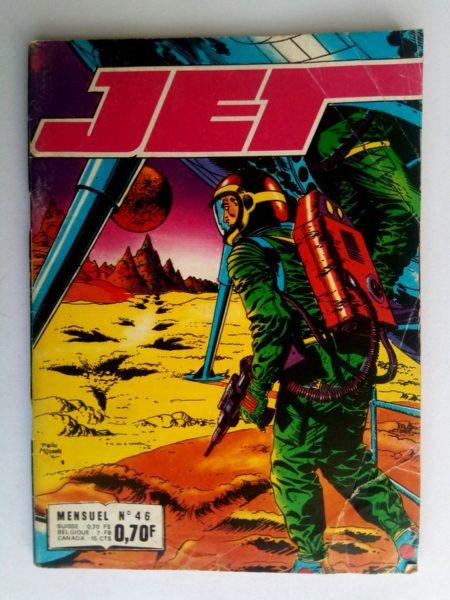 BD JET LOGAN N°46 Menaces - Editions IMPERIA 1971