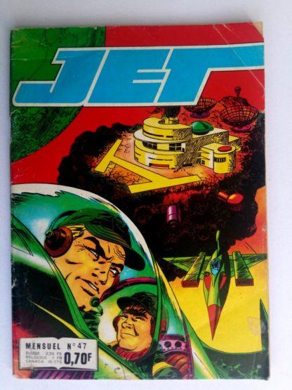 BD JET LOGAN N°47 Un seul moyen - Editions IMPERIA 1972