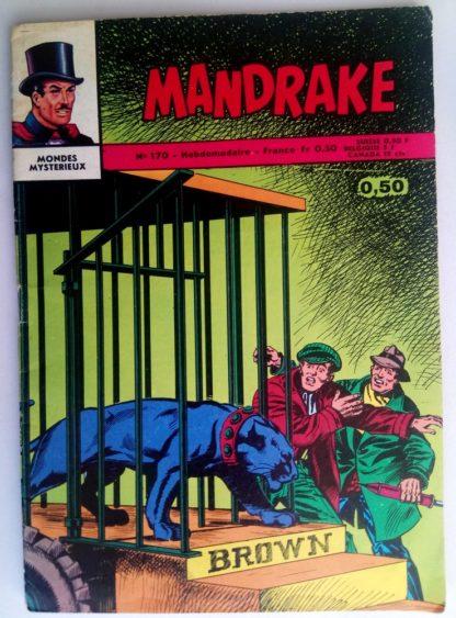 BD MANDRAKE N°170 La légende du mont Gluck - Remparts 1968