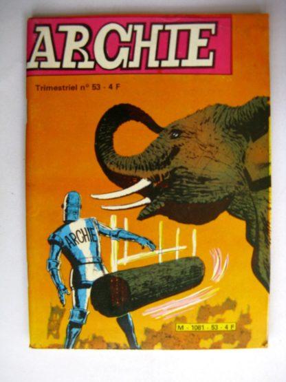 ARCHIE le Robot N°53 - La bête hurlante - Jeunesse et Vacances 1981