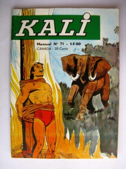 KALI Fils de la jungle N°71 L'Esprit de la Jungle