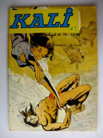 KALI Fils de la jungle N°75 Les roupies maudites