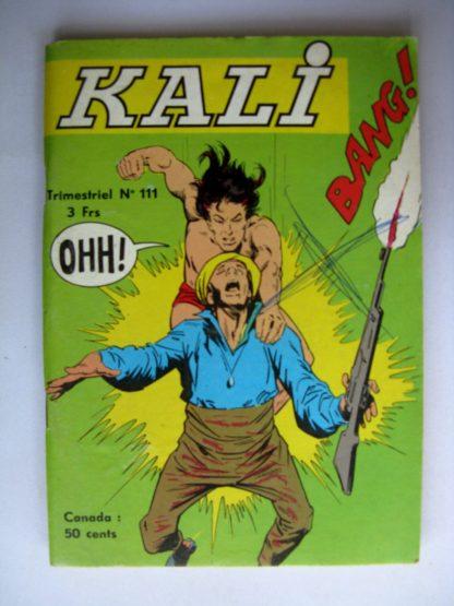 KALI Fils de la jungle N°111 Esclaves