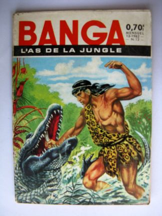 Banga l'As de la Jungle N°12 La grotte des vampires