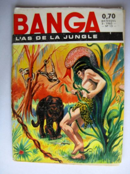 Banga l'As de la Jungle N°15 Le poison blanc
