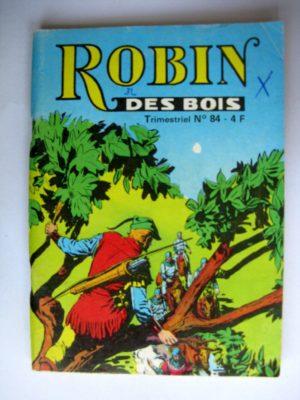 ROBIN DES BOIS N°84 La princesse captive – Jeunesse et Vacances 1979