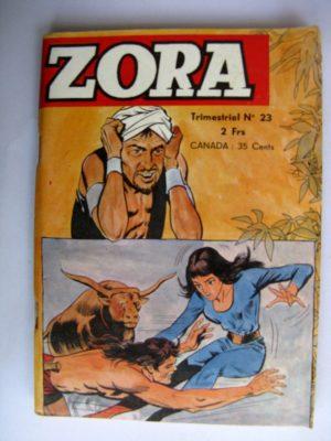 BD ZORA N°23 Kali Fils de la Jungle - JEUNESSE ET VACANCES 1972
