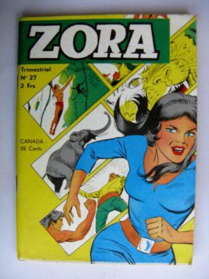 ZORA N°27 Kali Fils de la Jungle – JEUNESSE ET VACANCES 1973