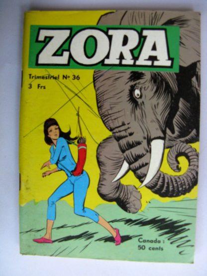 BD ZORA N°36 Kali Fils de la Jungle - JEUNESSE ET VACANCES