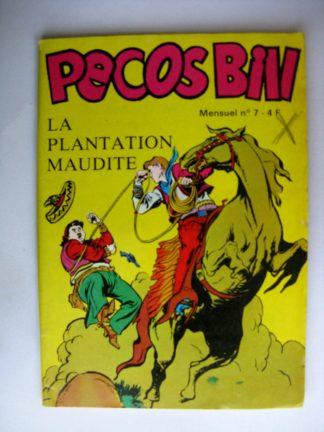 BD PECOS BILL N°7 - La plantation maudite - Petit Format de western