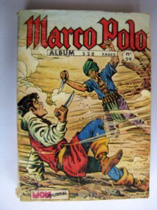 BD MARCO POLO ALBUM 29 (N°141-142-143-144) Galax - Tiarko