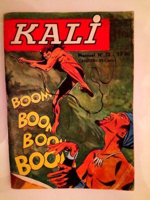 KALI Fils de la jungle N°72 Un cadeau empoisonné (Jeunesse et Vacances 1972)