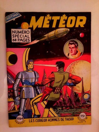 METEOR (1e SERIE) n°64 Les Curieux Hommes de Thorp (ARTIMA 1958)