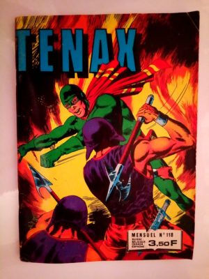 TENAX N°118 – DES TETES ERRANTES (IMPERIA 1981)