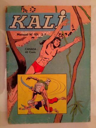 BD KALI Fils de la jungle N°101 L'appel de la forêt - Jeunesse et Vacances