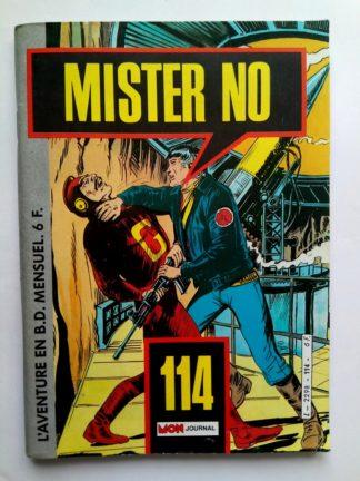 BD MISTER NO N°114 - Mon Journal
