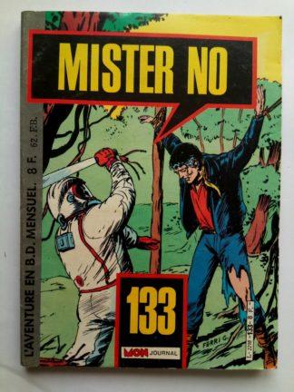 BD MISTER NO N°133 - Mon Journal