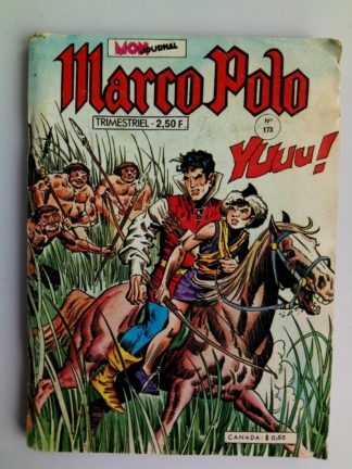 BD MARCO POLO N°173 MON JOURNAL 1977 : Hommes aux yeux d'or