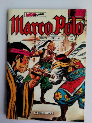 BD MARCO POLO N°191 MON JOURNAL 1981 : Pillards de Kourghan