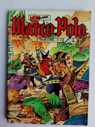 BD MARCO POLO N°200 MON JOURNAL 1983 : Défi aux samouraïs