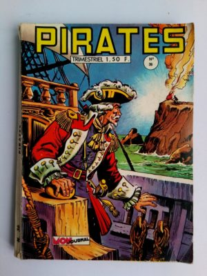 PIRATES (MON JOURNAL) n° 36 MON JOURNAL 1969 Rouletabille