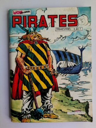 BD PIRATES n°73 MON JOURNAL 1979 : Capitaine Rik Erik - Biorn Viking