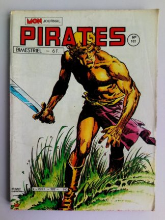 BD PIRATES n°107 MON JOURNAL 1985 : Andrax - Shark - Max des îles