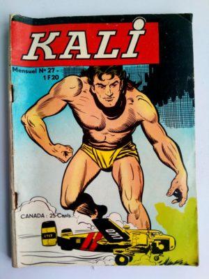 KALI Fils de la jungle N°27 Jeunesse et Vacances 1968