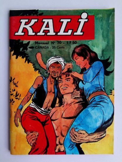 BD KALI Fils de la jungle N°70 Jeunesse & Vacances 1972 Nuit de Terreur