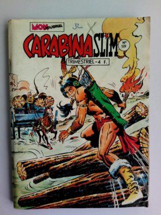BD CARABINA SLIM N°129 Mon Journal 1981 Colorado - BUFFALO BILL