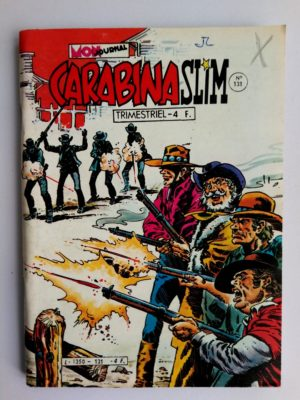 CARABINA SLIM N°131 Mon Journal 1981 – La piste des Hors la loi
