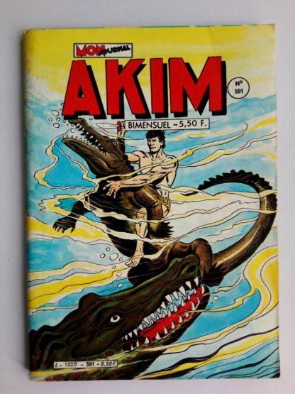 BD AKIM N°591 MON JOURNAL 1984 : Le retour du Vautour