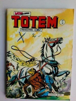 TOTEM 2E SERIE N°28 RENO KID (Lune Apache) MON JOURNAL 1977