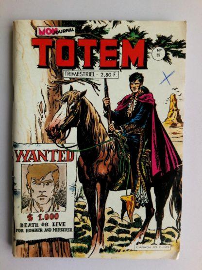 BD TOTEM 2E SERIE N°35 Mon Journal 1979 Colorado Jones - Reno Kid