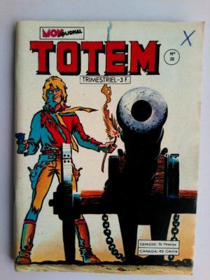 TOTEM 2E SERIE N°38 Reno Kid – MON JOURNAL 1979