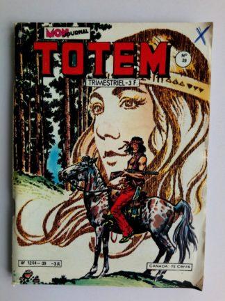 BD TOTEM 2E SERIE N°39 Mon Journal 1980 : RENO KID