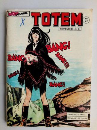 BD TOTEM 2E SERIE N°37 Mon Journal 1979 : RENO KID