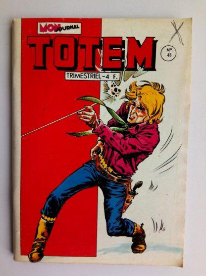 BD TOTEM 2E SERIE N°43 Mon Journal 1981 : RENO KID