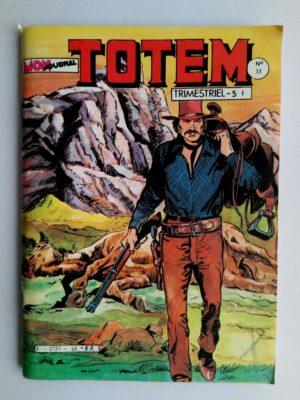 TOTEM 2E SERIE N°51 Casey O'Casey – MON JOURNAL 1983