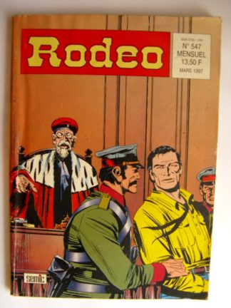 BD RODEO N°547 TEX WILLER