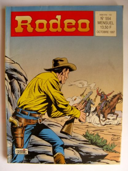 BD RODEO N°554 TEX WILLER