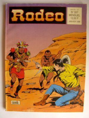 RODEO N°557 TEX WILLER  – Les Diables Noirs (3e partie) LUG 1998
