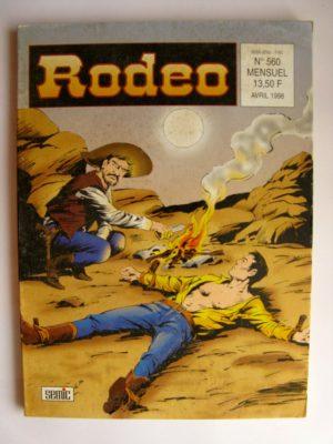 RODEO N°560 TEX WILLER (Rancho Dorado – 3e partie) SEMIC 1998