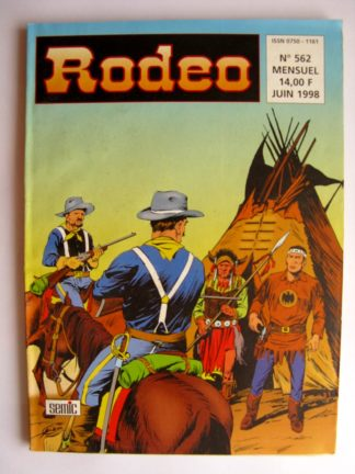 BD RODEO N°562 TEX WILLER