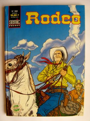 RODEO N°582 TEX WILLER – Sacrifice humain – LUG 2000