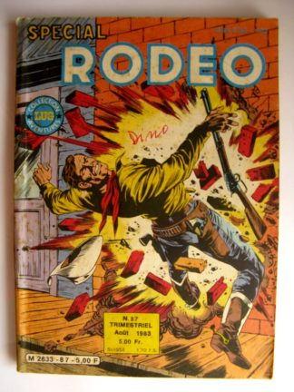 BD SPECIAL RODEO N°87 TEX WILLER