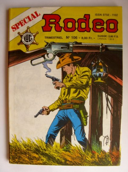 BD SPECIAL RODEO N°106 TEX WILLER