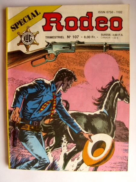 BD SPECIAL RODEO N°107 TEX WILLER