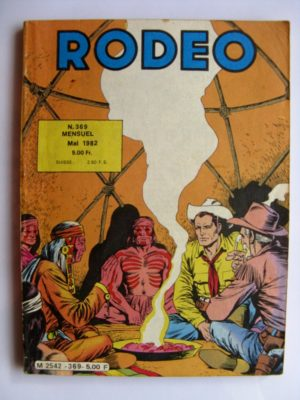 RODEO N°369 TEX WILLER (Tucson 5e partie) LUG 1982
