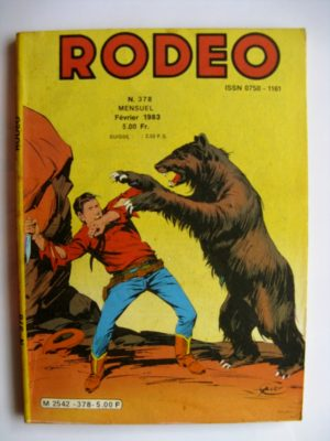 RODEO N°378 TEX WILLER (Virginia City 4e partie) LUG 1983